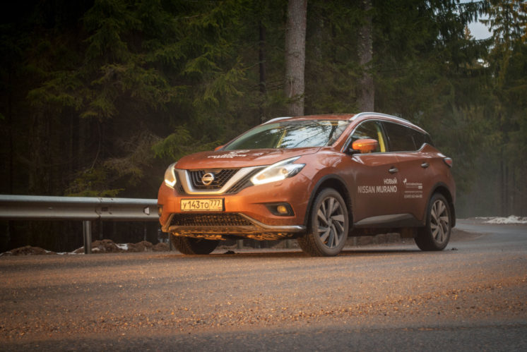 Nissan Murano Z52 могут сгореть из-за проблем с тормозами