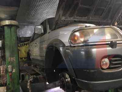 Ремонт рамы Mitsubishi Pajero Sport