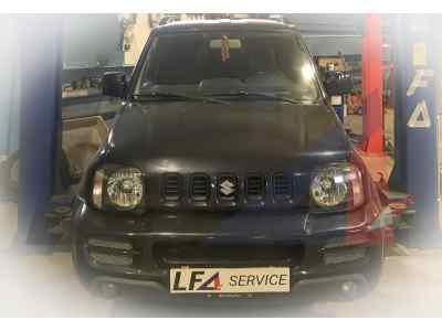Ремонт рамы Suzuki Jimny