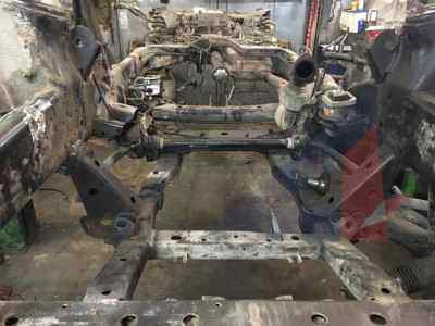 Ремонт рамы Land Rover Discovery 3