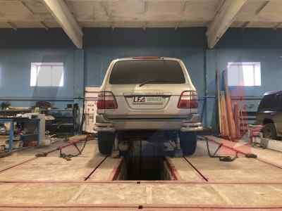 Ремонт рамы Toyota Land Cruiser
